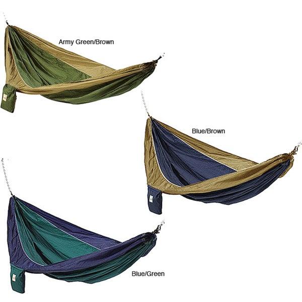 Parachute Silk Waterproof Two-person Hammock with Stuff Sack