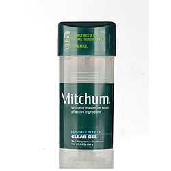 Mitchum Anti/ Deo 3.4-ounce Clear Gel Unscented (Pack of 4)