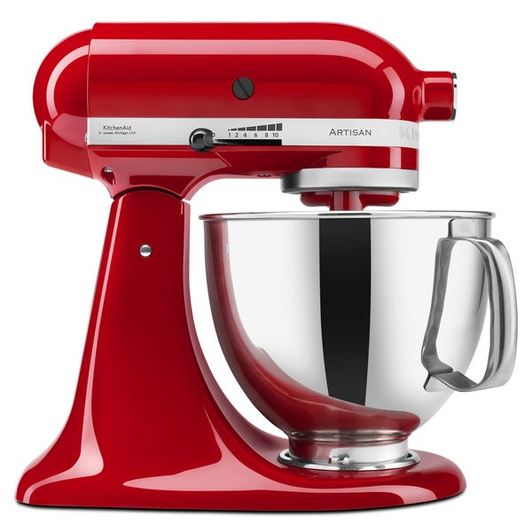 KitchenAid KSM150PSER Empire Red 5-quart Artisan Tilt-Head Stand Mixer **with Rebate**