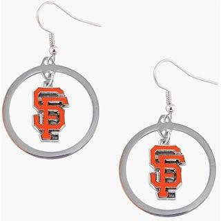 San Francisco Giants MLB Logo Hoop Earring Set