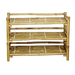 Bamboo Folding Shoe Rack (Vietnam)