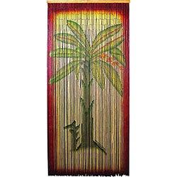 Decorative Multicolor Bamboo-beaded Banana-tree Curtain Screen (China)