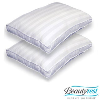 Beautyrest 500 Thread Count Mosaic Medium Firmness Bed Pillows (Set of 2)