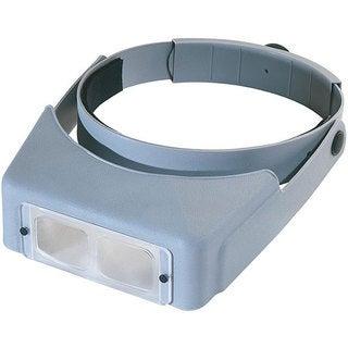 OptiVISOR LX # 4 Hands-free Adjustable Binocular Magnifier Lensplate