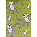 Hand-tufted Toddler Novelty Area Rug (7'9 x 10'6)