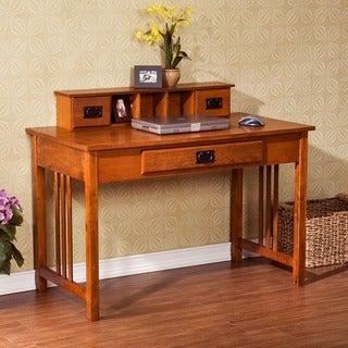 Upton Home Mission Oak Work Desk