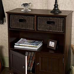 Upton Home Kelly Espresso Storage Console