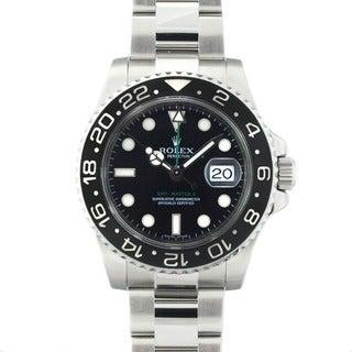 Pre-Owned Rolex Men's GMT Master II Ceramic Bezel Watch
