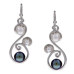 Kabella Sterling Silver Freshwater Pearl Earrings (4-5, 6-7, 7-8 mm)