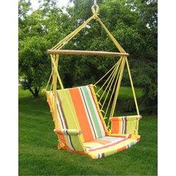 Deluxe Rainbow Hanging Hammock Sky Swing Chair