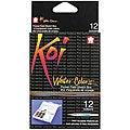 Koi 12-color Water Color Paint Kit