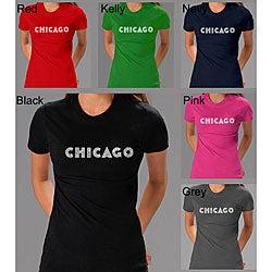 Los Angeles Pop Art Women's Chicago T-shirt