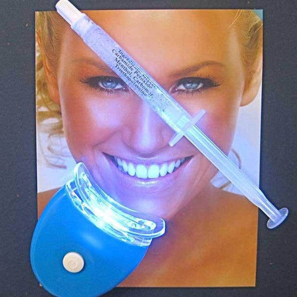 New Teeth Whitening 44-percent LED Light and Single Gel