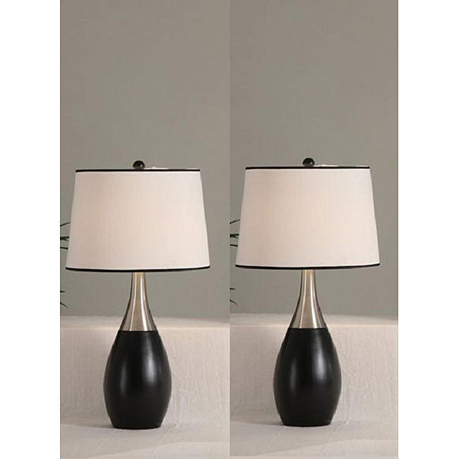 Blaque 30-inch Antique Table Lamps (Set of 2)