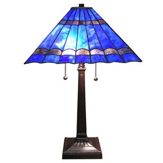 Tiffany-style Gothique Table Lamp