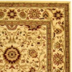 Safavieh Lyndhurst Collection Majestic Ivory/ Ivory Rug (9' x 12')