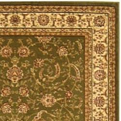 Safavieh Lyndhurst Collection Sage/Ivory Traditional Rug (9' x 12')