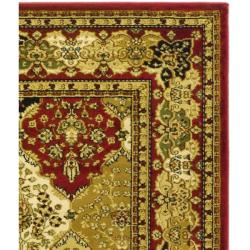 Safavieh Lyndhurst Collection Traditional Multicolor/Red Rug (9' x 12')