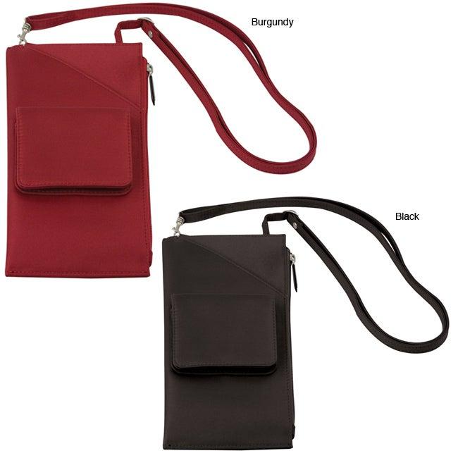 Travelon Cross-body Travel Wallet with Adjustable Shoulder Strap