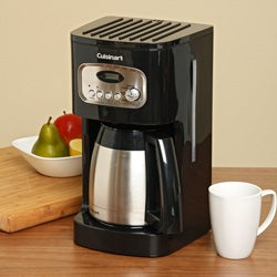 Cuisinart  DCC-1150BKFR 10-Cup Programmable Thermal Coffee Maker (Refurbished)