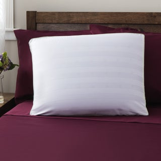 SwissLux Dual-comfort Supreme European-Style Memory Foam with Gel Fiber Pillow