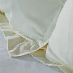 Egyptian Cotton Soft 400 Thread Count Solid Sateen Finish 3-piece Duvet Set
