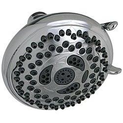 Waterpik 12-setting Chrome Showerhead