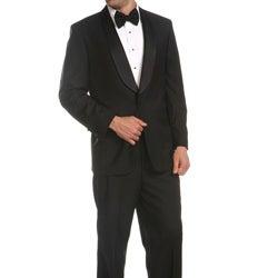 Ferrecci Men's Single-button Shawl-collar Tuxedo