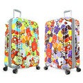 Olympia Blossom 29-inch Expandable Fashion Hardside Spinner Upright