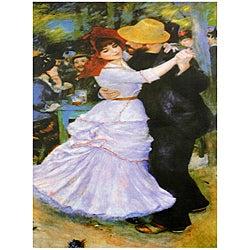 Renoir 'Dance at Bougival' Canvas Wall Art (China)