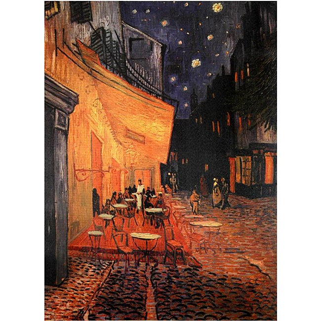Van Gogh 'Cafe Terrace on the Place du Forum' Canvas Wall Art (China)