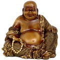Sitting 6-inch Laughing Buddha Statue (China)