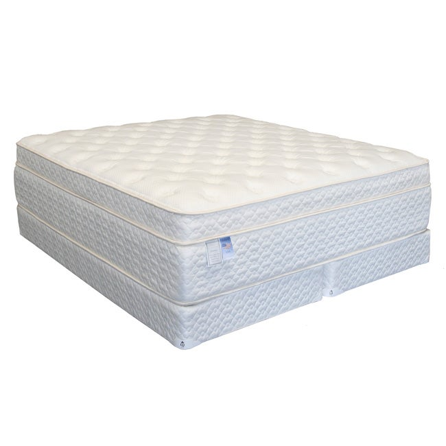 Serenity Euro-Memory 18-inch California King-size Mattress Set