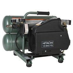 Hitachi EC89 4-gallon Portable Electric Air Compressor (Refurbished)