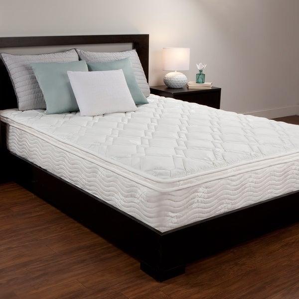 Comfort Memories 10-inch Queen-size Foam and Spring Hybrid Mattress
