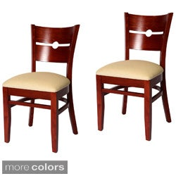 Coin Back Chairs (Set of 2)