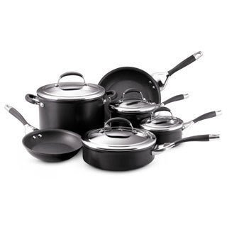 Circulon Elite Hard Anodized Nonstick 10-piece Set