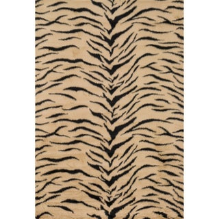 Jungle Tiger Print Rug (3' x 5')