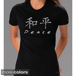 Los Angeles Pop Art Women's Chinese Peace Tee