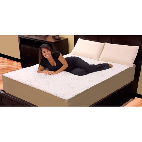 Orthopedic 12-inch Queen-size 4-layer Memory Foam / Latex Mattress