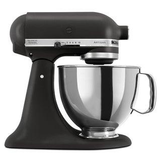 KitchenAid KSM150PSBK Imperial Black 5-quart Artisan Tilt-Head Stand Mixer **with $30 Mail-in Rebate**