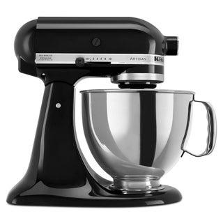 KitchenAid KSM150PSOB Onyx Black 5-quart Artisan Tilt-Head Stand Mixer