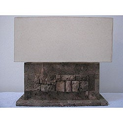 Lava Stone Table Lamp (Indonesia)