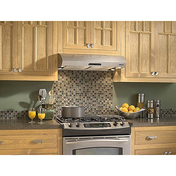 Broan Evolution 1 Series 30 Inch Stainless Steel Under Cabinet Range Hood O