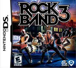 Nintendo DS- Rock Band 3 - By Electronic Arts