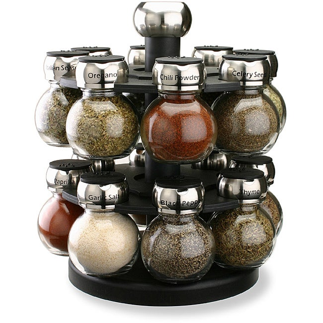 Olde Thompson 16-jar Orbit Spice Rack