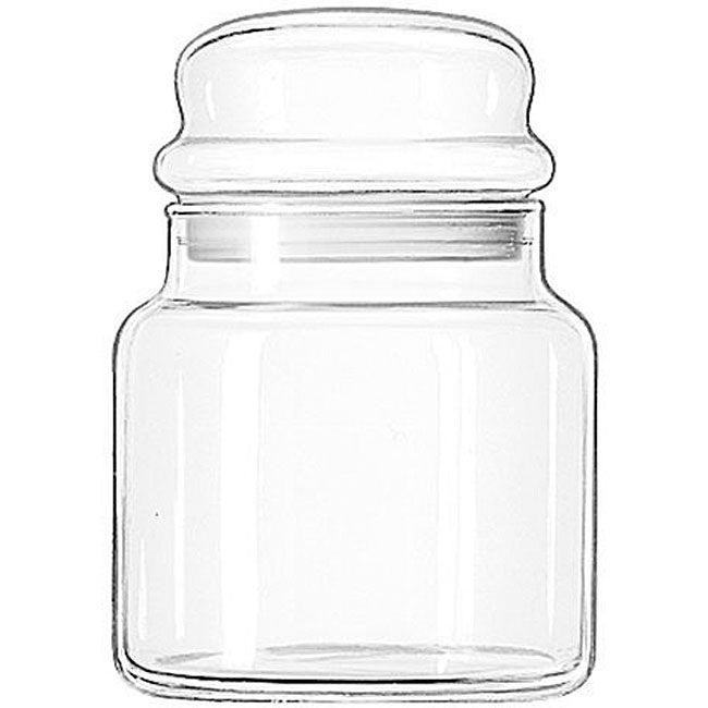 Libbey 22-oz Storage Jars (Pack of 12)