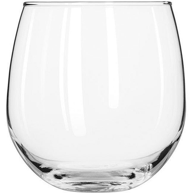 Libbey Stemless 16.75-oz Red Wine Glasses (Pack of 12)