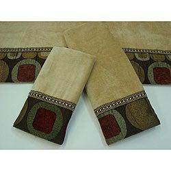 Sherry Kline Metro Spice Decorative 3-piece Towel Set
