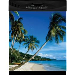 Appliance Art Tropical Beach Dishwasher Cover